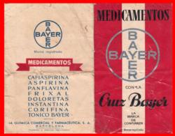 ESPAÑA  PUBLICIDAD DE MEDICAMENTOS BAYER - Publicidad
