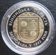 85 Years Of Foundation Of Vinnytsia Region Ukraine 2017 Coin 5 UAH Bimetal - Ukraine