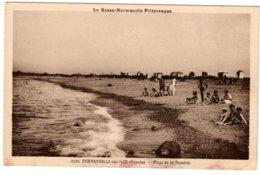 FERMANVILLE-SUR-MER - Plage De La Mondrée - Frankrijk