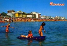 Riccione - Alberghi Visti Dal Mare - Formato Grande Viaggiata – E 13 - Rimini