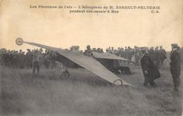 CPA BUC AEROPLANE DE M. ESNAULT PELTERIE PENDANT SES ESSAIS - Buc