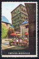 Viñeta Turistica TREVES (Moselle) Treveris, Germany. Label, Cinderella Tourism ** - [7] República Federal