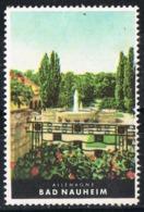 Viñeta Turistica BAD NAUHEIM (Hesse), Germany. Label, Cinderella Tourism ** - [7] República Federal
