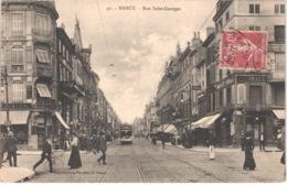 FR54 NANCY - Imprimeries Réunis 92 - Rue Saint Georges - Tramway - Animée - Belle - Nancy