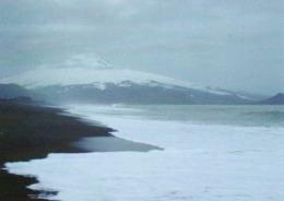 1 AK Island Jan Mayen Zu Norwegen * Nightview Northern Jan Mayen - Landschaft Dieser Insel Im Nordatlantik * - Norwegen