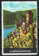 Viñeta Turistica RENANIA Romantica (Rheinland Pfalz), Germany. Label, Cinderella Tourism ** - [7] República Federal