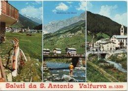 Saluti Da S. Antonio Valfurva M. 1339 - Vedute - Altre Città