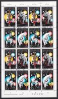 Hei_ DDR -  Mi.Nr. 2364 - 2367 - Gestempelt Used - Ganzer Bogen - DDR