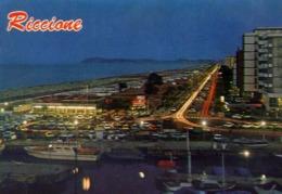 Riccione - Scorcio Panoramico Notturno - Formato Grande Viaggiata – E 13 - Rimini