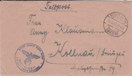 Feldpost WW2: Teil Lazarett Baden-Baden, Teil Lazarett Bühlerhöhe P/m Bühlerhöhe (Baden) 12.5.1943 - Cover - Militaria