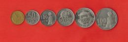 Uzbekistan. Set Of 6 Coins 1994-2018 - Uzbekistan
