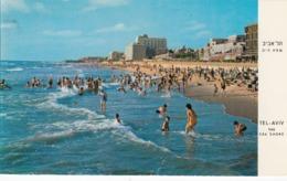 TEL-AVIV , Israel , 1967 ; The Sea Shore - Israel