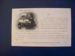 """Carte Postale Ancienne De Pont-Aven : Invitation Au Pardon Des Fleurs D'Ajonc"""" - T. Botrel - Pont Aven"""