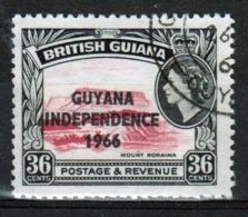 Guyana 1966 Single 36c Stamp From The British Guiana Definitive Series Overprinted For Guyana. - Guyana (1966-...)