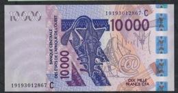 W.A.S. BURKINA FASO P318Cs  10000  OR 10.000 FRANCS (20)19 2019 UNC. - Stati Dell'Africa Occidentale