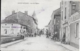 Rue De L'Eglise. (Voir Commentaires) - Sauze Vaussais