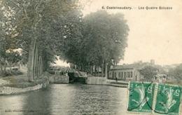 CASTELNAUDARY  =  Les Quatre écluses   862 - Castelnaudary