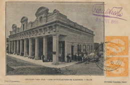 San José . Casa Introductora De Cuadrado Y Silva . Edit Figueroa 1905 . Dr F. Nicola APN Deltiology - Uruguay