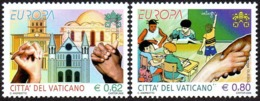CEPT / Europa 2006 Vatican N° 1396 - 1397 ** L'intégration - 2006