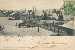 Montevideo Muelles De La Aduna Douanes - Uruguay