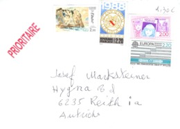 Auslands - Brief Von 69006 Lyon Mit 8,60 Franc Mischfrankatur 2019 - 2018-... Marianne L'Engagée
