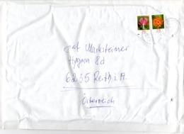 Auslands - Brief Von 66126 Saarbrücken Mit 370 Cent Mischfrankatur Blumen 2019 - BRD