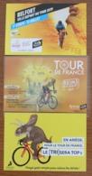 Cyclisme , Tour De France 2019, 3 Cartes : Smectom, Reims, Belfort - Cyclisme