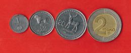 Georgia Set Of 4 Coins - Georgië