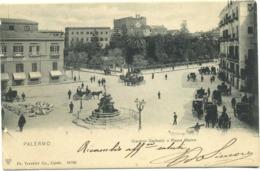 14116 - Palermo - Giardino Garibaldi E Piazza Marina - Palermo