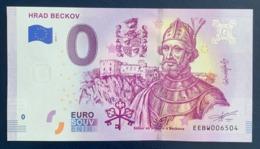 0 Euro, 2019, Castle Beckov, Slovakia, Souvenir, Uncirculated - EURO