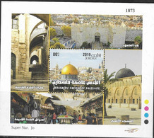JORDAN,  2019, MNH, JERUSALEM,  SHEETLET - Other