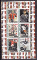 Chechenia Sheet Football - Postzegels