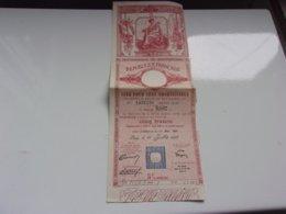 DETTE PUBLIQUE 1937 - Actions & Titres