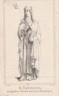 Non Marie Louise  De Meester-roulers 1839-bruges Convent Du Mont Carmel 1871 - Devotion Images