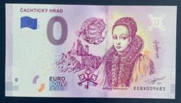 0 Euro, 2019, Castle Cachtice, Slovakia, Souvenir, Uncirculated - EURO