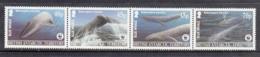 British Antarctic Territory / BAT MNH Michel Nr 353/56 Strip WWF From 2003 / Catw 12.50 EUR - Nuovi
