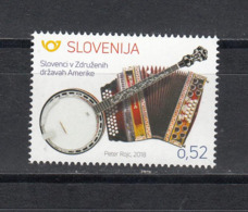 Slovenia Slowenien 2018 MNH** 2018-32 Slovenes In The USA - Slovenië