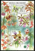 Czech Republic 2012 Chequia / Flowers Orchids MNH Blumen Flores Orquídeas Fleurs / Cu13422  36-48 - Sin Clasificación