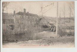 FRANCE / VILLENEUVE SUR BELLOT / LA FABRIQUE / 1907 - Autres Communes
