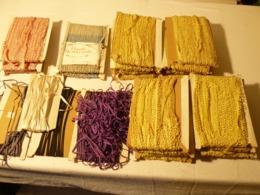 Dentelle, Broderie, Galons 525 Mètre + Cordons - Laces & Cloth