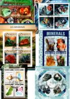 """Lot 6 Blocs Thematique """" Mineraux """" - Géologie"""
