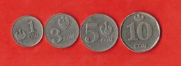 Kyrgyzstan. St Of 4 Coins - Kyrgyzstan