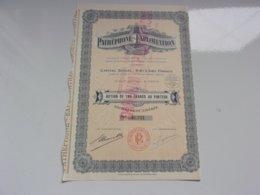PATHEPHONE EXPLOITATION (omnium Exploitation) 1932 - Actions & Titres
