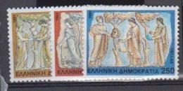 GRECE          1991          N° 1760 / 1762      COTE          6 € 00           ( W 190 ) - Grèce