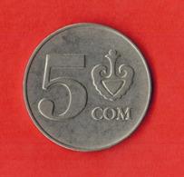 Kyrgyzstan 5 Som, 2008 - Kirgizië