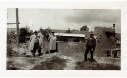 ALVERINGHEM - Kleine Foto 11,5 X 7 Cm Van Bouw Van De Molen In 1935 + 2 Krantenknipsels Complete Molen Maurits Billiet - Alveringem