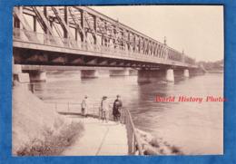 Photo Ancienne Snapshot - STRASBOURG - Groupe De Femme Au Pont De Kehl - 1919 - Architecture Rhein Rhin Alsace - Lieux