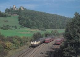 Diesellok BR 216,2 Triebwagen BR 796,Kasselburg Bei Pelm, Ungelaufen - Trains