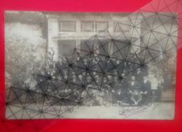 """Saint Ferjeux -  Harmonie """" La Concorde """" En 1911 - Datée,signée Landriot - Besançon . - Autres Communes"""