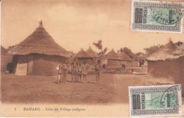 CPA BAMAKO (MALI) COIN DU VILLAGE INDIGENE - Mali